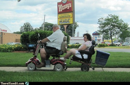 fatty g rated redneck smartcart swag there I fixed it Walmart wendys - 6104679680