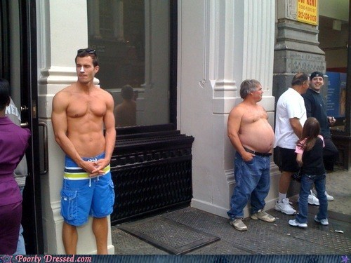 beer belly bro contrast get a shirt ripped - 6104708352