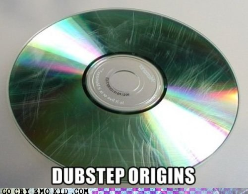 CD,dubstep,origins,scratch