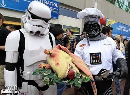 chef,cooking,Jar Jar,nerdgasm,star wars