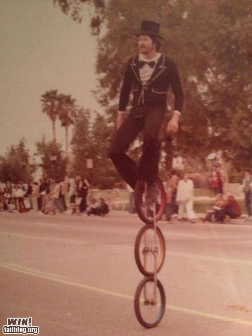 balance bike retro unicycle vintage