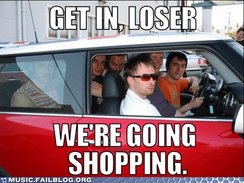 radiohead shopping Thom Yorke - 6104945152