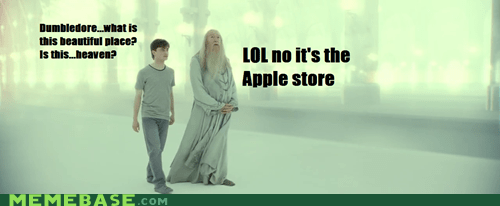 apple computers Harry Potter heaven Memes - 6104952064