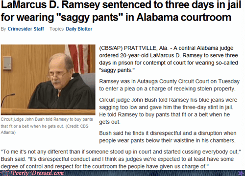 Courtroom,news,pants,saggy