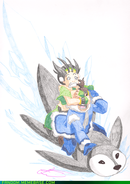 Avatar cartoons Fan Art sokka toph - 6105058304