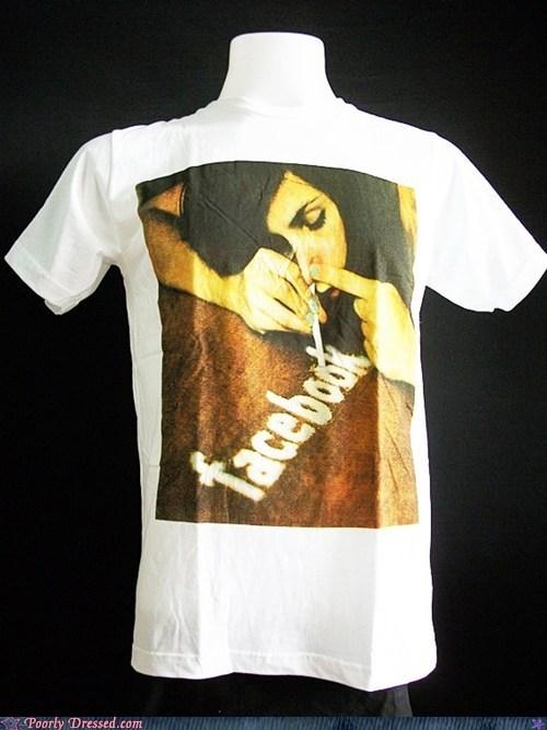 addiction drugs facebook shirt - 6105401088