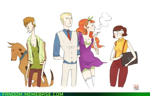 cartoons Fan Art movies scooby doo - 6105516800