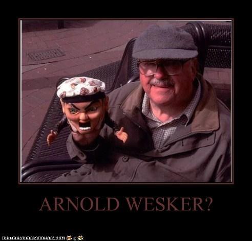 ARNOLD WESKER?