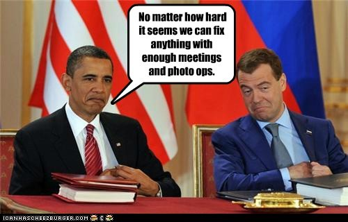 barack obama Dmitry Medvedev political pictures - 6106677504
