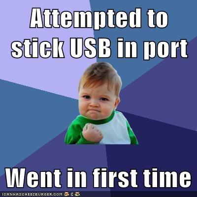 impossible liar success kid USB - 6107172608