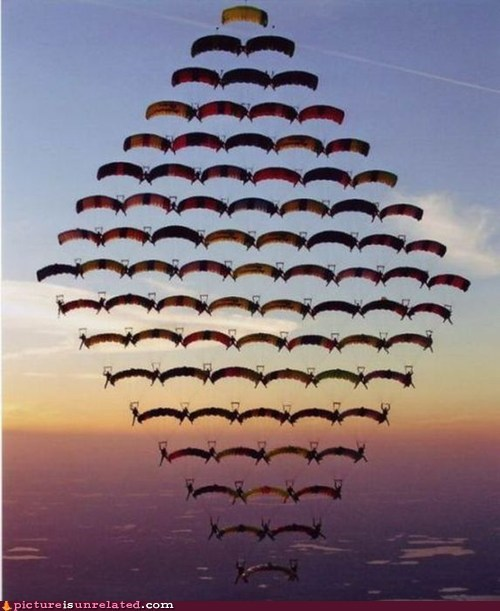 parachute sky diving synchronized wtf - 6107201280