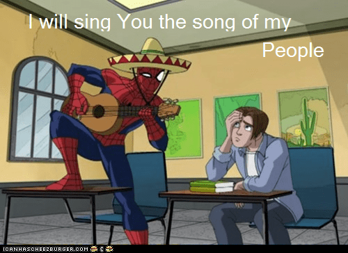 people song Spider-Man Super-Lols wtf - 6107365120