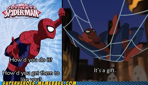 self Spider-Man Super-Lols talking wtf - 6107647488