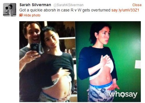 Sarah Silverman,war on women
