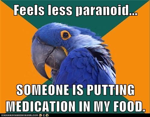 Paranoid Parrot - 6107839488