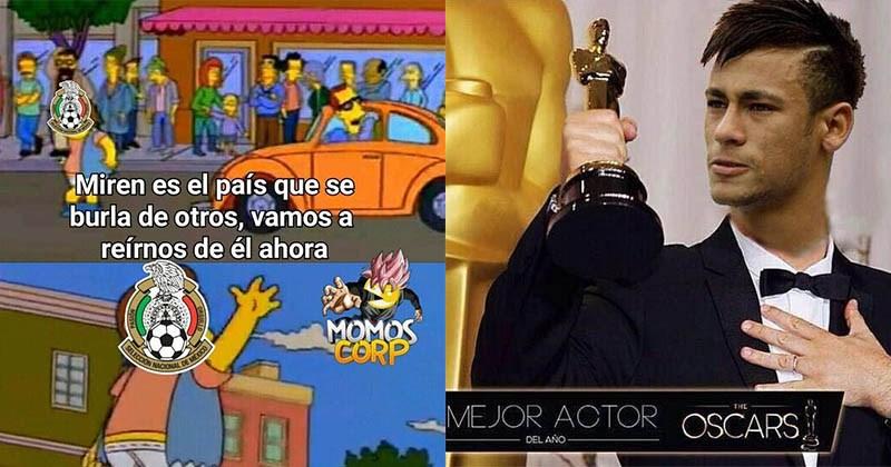 memes mexico derrota