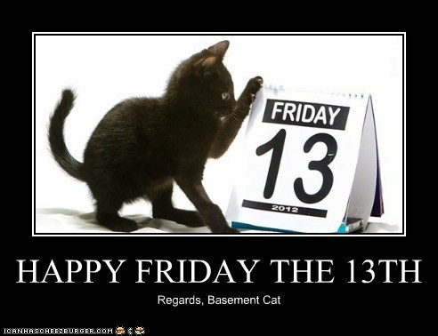 best of the week,black cats,Cats,friday the 13th,Hall of Fame,holidays,scary