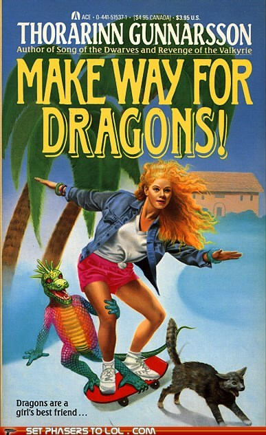 90s book covers books cat cover art dragon fantasy skateboard wtf - 6107980032