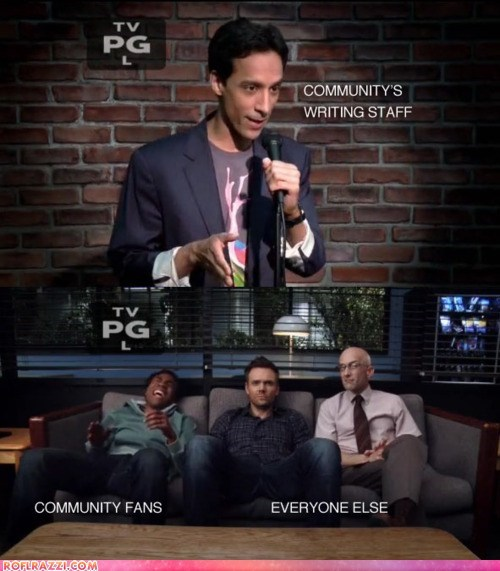 actor celeb community Danny Pudi Donald glover funny jim rash joel mchale TV