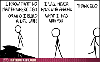 breakups thank God xkcd - 6108059136