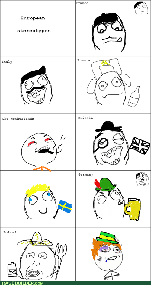 europe irish Rage Comics stereotypes - 6108093440