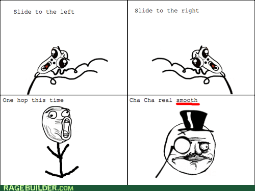 cha cha sir omg run Rage Comics - 6108220672