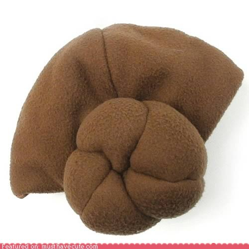 buns fleece hair hat Princess Leia star wars - 6108419840