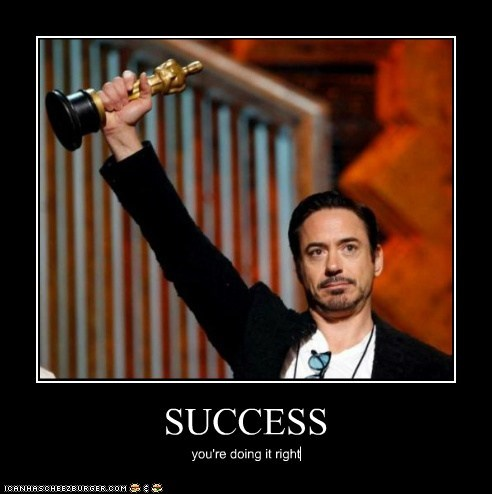 actor,celeb,demotivational,funny,oscars,robert downey jr