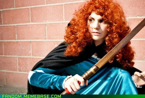 brave cosplay disney merida - 6108484352