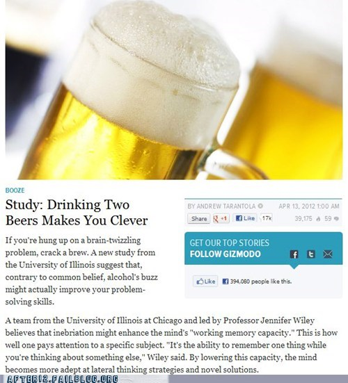 beer,booze news,clever,university of illinois,university study