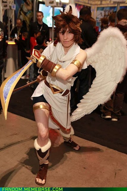 cosplay kid icarus nintendo video games