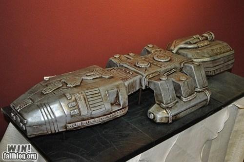 Battlestar Galactica cake dessert food nerdgasm - 6108559616