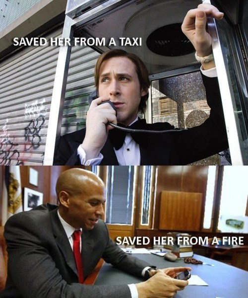 cory booker,headlines,rescue