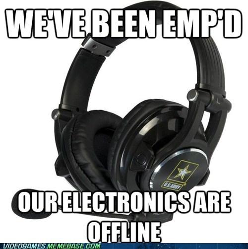 call of duty,electronics are offline,emp,meme,modern warfare,wtf