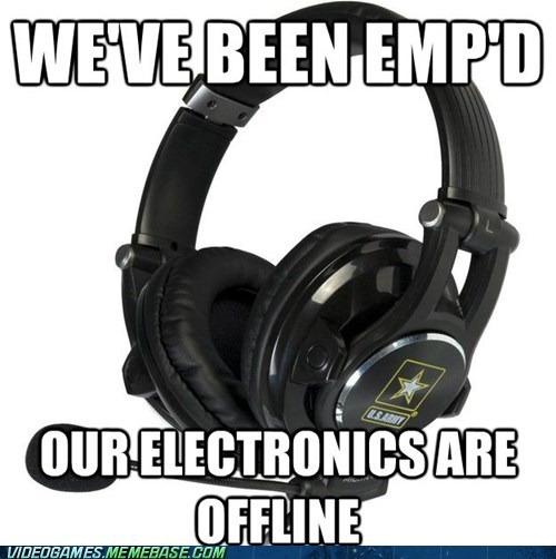 call of duty electronics are offline emp meme modern warfare wtf - 6108669440