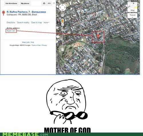 brazil google Maps Nyan Cat - 6108683008