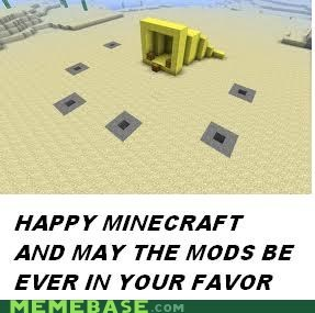 crossover ever in your favor meme minecraft mods hunger games