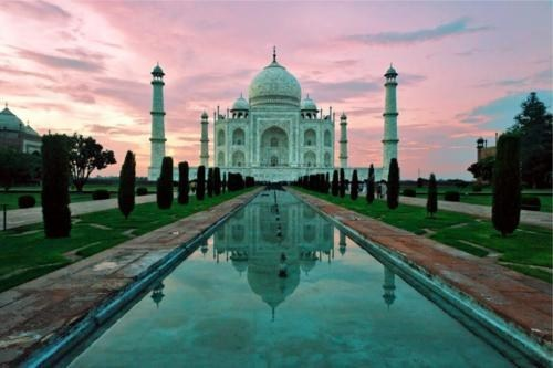 india sunset taj mahal - 6109366784