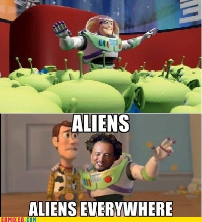 Aliens,From the Movies,Movie,the claw,toy story,x x everywhere