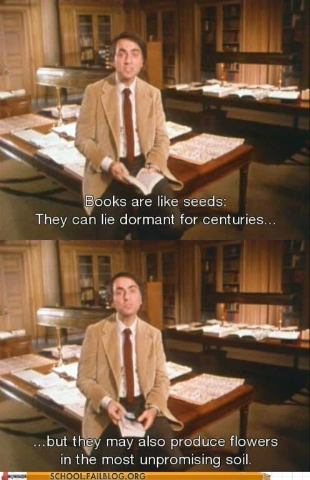 Sagan Logic is the Best Logic