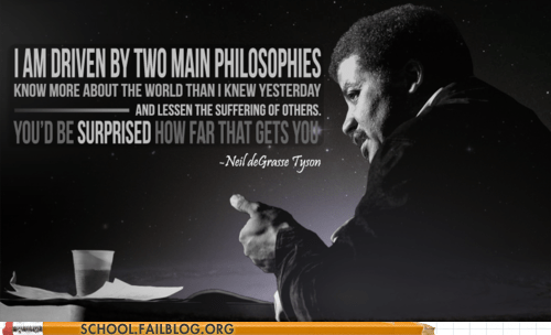 g rated,inspirational,Neil deGrasse Tyson,philosophies,School of FAIL