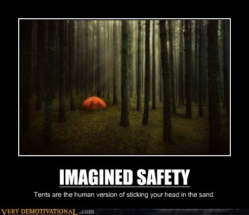 camping hilarious imagined safety tent - 6110947584