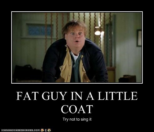 actor,celeb,chris farley,demotivational,funny,Hall of Fame