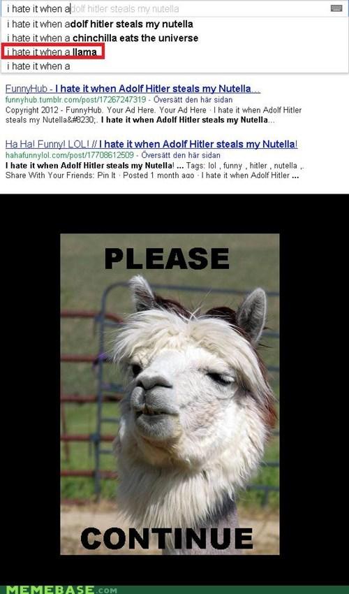animals change go on google llama Memes - 6112224256