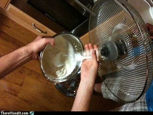 beater fan whipped cream whisk