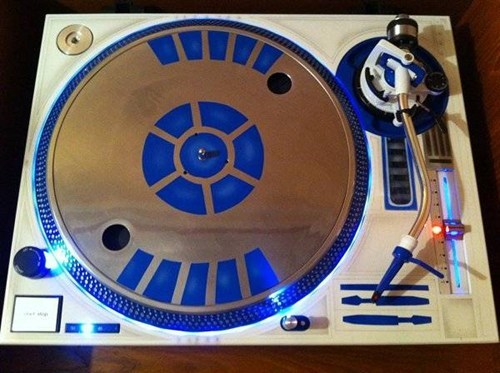 hip hop music equipment r2d2 star wars turntable vinyl - 6112482304