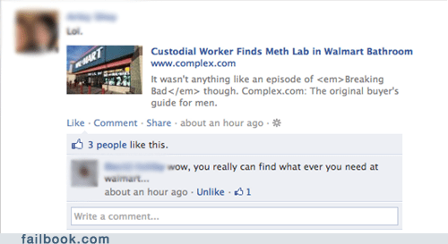 meth Walmart failbook - 6112558336