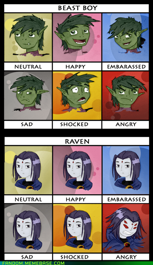beast boy,cartoons,Fan Art,raven,teen titans