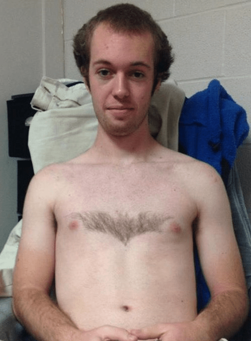 batman chest hair body hair - 6113041408