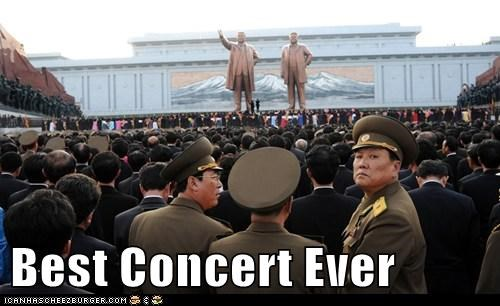 North Korea political pictures